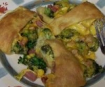Spam, Broccoli & Cheese Wreath picture