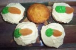 Carrot Cake Muffins With Cream Cheese Icing and Carrot picture