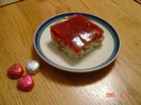 Chicken Salad With Cranberry/Lemon Jello Topping picture