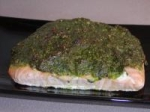 Salmon Crusted Pistachio Pesto picture