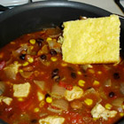 fifteen minute chicken chili picture