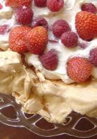 Pavlova With Berries picture