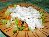 Creamy Pancetta Dressing and Iceberg Lettuce picture