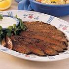 flank steak with horseradish sauce picture