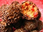 Chocolate Cherry Kid Friendly Rum Balls picture
