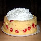flower garden cake picture