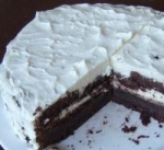 Chocolate Buttermilk Cake With a Sour Cream Frosting picture