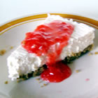 fluffy two step cheesecake picture