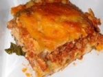 Steak and Spinach Lasagna picture