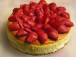 Strawberry Amaretto Cheesecake picture