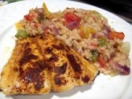 Cajun Halibut picture