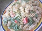 Roasted Red Pepper Caesar Pasta Salad picture