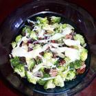 fresh broccoli salad picture