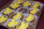 Chick & Egg Krispie Nest Easter Treats picture