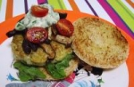 Fish Burgers With a Herb Sauce picture