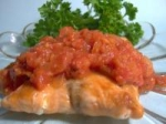 Grilled Salmon and Smokey Tomato-chipotle Sauce picture