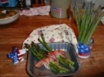 Bacon Wrapped Garlic Asparagus Bundles picture