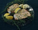 Grilled Halibut With Lemon Tarragon Mustard picture