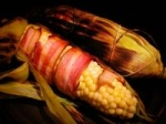 Bacon Wrapped Grilled Corn on the Cob picture