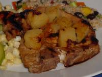 Grilled Pineapple Pork Chops picture