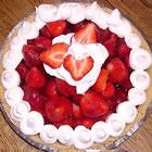 fresh strawberry pie picture
