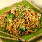 fried rice with ginger hoisin and sesame picture