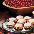 frosted cranberry drop cookies picture