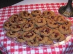 Raspberry Almond Oatmeal Cookies picture