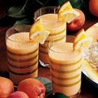 Frothy Apricot Drink picture
