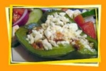 Low Carb Mediterranean Stuffed Peppers picture