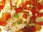 Baked Red Snapper With Citrus - Tomato Topping picture
