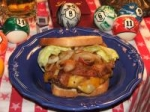 bacon cheddar ranch burgers! picture