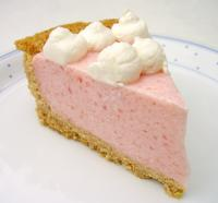 Watermelon Chiffon Pie picture