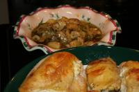 Roast Chicken Breasts With Herbed Cheese picture