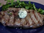 Herbed Butter Rib Eye Steaks picture