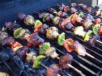 Skewered Five Spice Pork (Oamc) With Vegetables picture