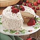 fruit-filled white cake picture