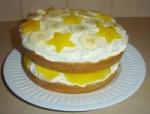 Pineapple and Banana Cake picture