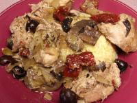 Greek Island Chicken With Marinated Artichokes picture