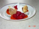 Angel Food Cake With Lemon Cream and Berries picture