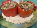 Stuffed Peppers With a Savoury Cashew Sauce picture