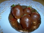 Injected Chocolate Covered Strawberries With Grand Marnier picture