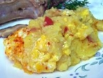 Mamaliga  Cu Branza (corn Meal Mush With Cheese) picture