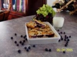 Low Fat Sugarless Blueberry Squares picture