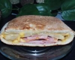 Ham and Cheese Stuffed Bread picture