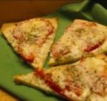 Go Blue Alfredo Pizza picture