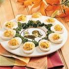 garlic deviled eggs picture