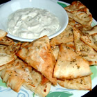 garlic pita bread bites picture