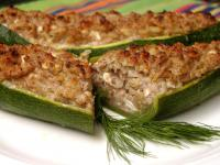 Stuffed Zucchini With Walnuts and Feta picture