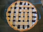 Blue Ribbon Cranberry Blueberry Pie picture
